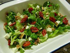 Ensalada con tomates secos
