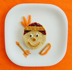 Thanksgiving Lunch fun food idea for kids