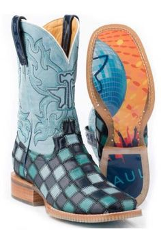 Saw these at the NFR, love them! Blue Lagoon Tin Haul Urban - Boots