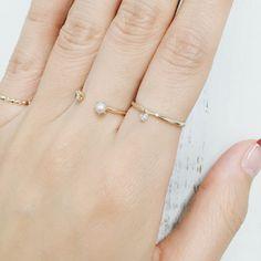 cui-cui[キュイキュイ] ★ヌーディーダイヤ Ring ★フォークリング