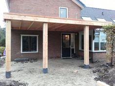 Overkapping van Douglas hout www.vanviegen.com