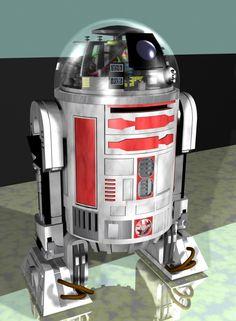 R3-T6 • Fan-arts • Star Wars Universe