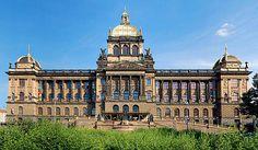 The National museum (Czech: Národní muzeum) of Prague