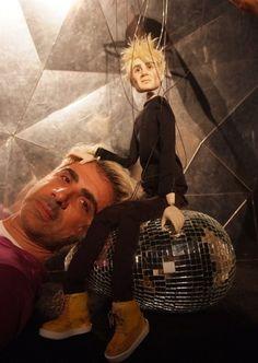 SPFW 2013 Fauzi Hatten & his models puppets