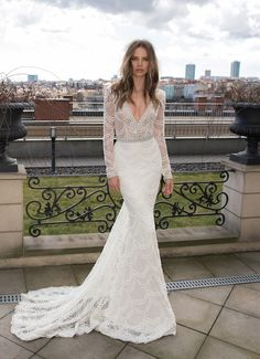 Blog OMG - I'm Engaged! Vestidos de Noiva Berta Bridal (wedding dress).