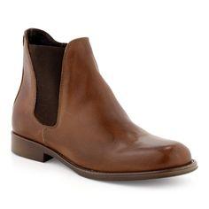 Boots/Bottines Cuir marron pour Femme : Boots/Bottines Sirmione - 67,99€