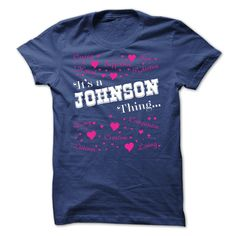 Johnson THING AWESOME SHIRT - Limited Edition