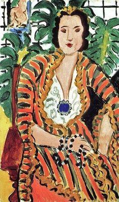 1937 Henri Matisse    Helene Galitzine
