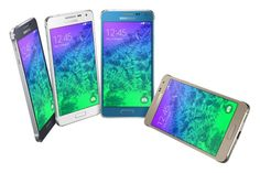 Samsung Galaxy Alpha debuts in the mobile world