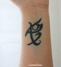 scandinavian Rune for fearless Getting this but way smaller