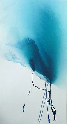 and so the river flowed 2 | Jo Lewis |   watercolour on paper, 2010