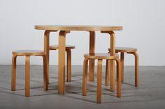 Alvar Aalto Vintage Table - ARTEK.