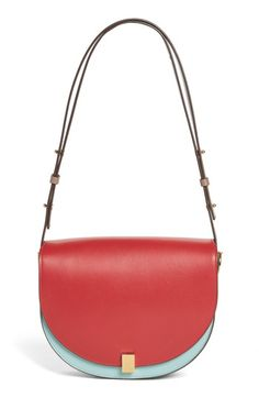 Free shipping and returns on Victoria Beckham Half Moon Box Shoulder Bag at Nordstrom.com. A signature style from Victoria Beckham in calfskin leather is cut in a classic crescent shape and features a textured-gilt lock and shoulder strap that wraps the base for a streamlined look.