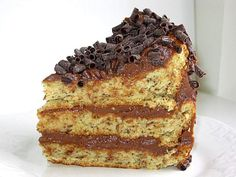 Walnuts and Chocolate Make For a Stunning Hungarian Torte: Hungarian Walnut Torte or Dios Torta