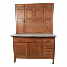 Antique Bakers Cabinet | Sellers Bakers Cabinet | Instappraisal ...
