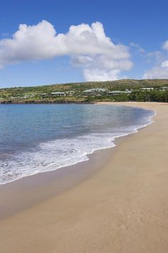Manele Bay Beach Park, Hawaii, Lanai - My favorite place on earth.
