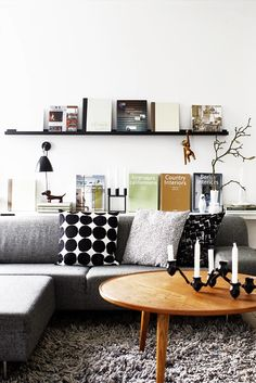 10 Scandinavian living rooms | 10 Salones de estilo escandinavo