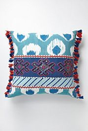 Fringed Javadi Cushion