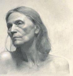 ARTIST: Gregory-Mortenson ~ Nina (graphite on paper)