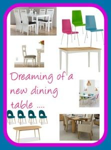 Dreaming of a New Kitchen Table - a beautiful space