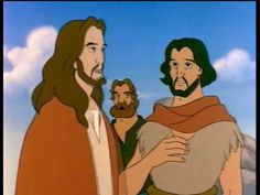 Animated Stories From the New Testament Jesus Bible Story Crafts, Bible Stories For Kids, Bible For Kids, Bible John, Children's Bible, Catholic Catechism, Teaching Religion, Kids Church, Church Ideas