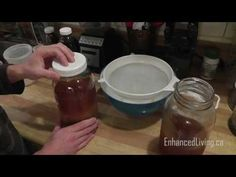 Water Kefir Grains Probiotic Drink. How To Make & Grow Kefir Grains. 8 Day Fermentation Time - YouTube