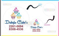 """500 Adhesivos de 3 x 3 cm. Arte e Impresión por Elisher Impresiones. Colores: Full Color. Aplicación: Texto, Creación, Efectos y Foto. Impresión: Offset y/o Digital. Nota: Arte exclusivo de """" Dakylu Cake's """" Por Elisher Impresiones, Diseños y Logos"""