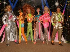 1987 Barbie and the Rockers. Wow! Nice pants Ken!