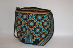 View album on Yandex. Hippie Bags, Boho Bags, Tapestry Bag, Tapestry Crochet, Knitting For Kids, Knitting Yarn, Mochila Crochet, Crotchet Patterns, Knitted Bags