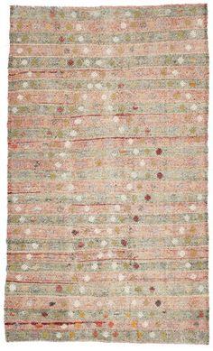 Kelim semi-antiek Turkije tapijt XCGH1407 carpetvista.nl