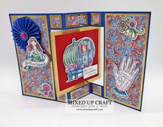 Fancy Fold Cards, Folded Cards, Birthday Card Design, Birthday Cards, Showman Movie, Envelope Punch Board, Tiny Star, Custom Envelopes, Blank Cards