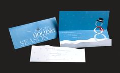 Ferris State University Annual Holiday Card/Invite by Joshua Lovell, via Behance