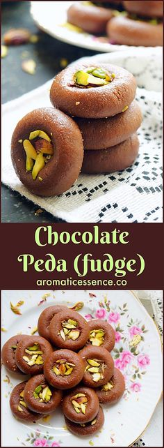 Step-by-step recipe with pictures to make chocolate peda with milk mawa powder. How to make chocolate mawa peda. Indian Desserts, Indian Sweets, Indian Food Recipes, Diwali Recipes, Indian Foods, Milk Recipes, Sweet Recipes, Dessert Recipes, Delicious Chocolate