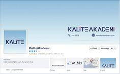 KaliteAkademi Facebook / Twitter Yönetimi