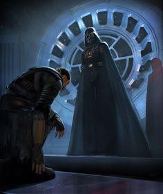 Starkiller Knighting by Vader