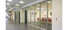 glass partition, double Glass partition, office double glass partition