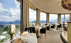 A symphony of senses at the panoramic view restaurant