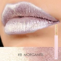 2017 New Brand Shimmer Lip Gloss Cosmetics Long Lasting Pigment Sexy Purple Rose Gold Metallic Focallure Lipstick Liquid Makeup Best Matte Lipstick, Metallic Lipstick, Lipstick Colors, Lip Colors, Brown Lipstick, Purple Lipstick, Shimmer Lip Gloss, Matte Lip Gloss, Glossy Lips