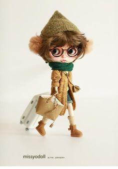 Muñecas Y Accesorios Muñecas Modelo Blythe Taeyang Pullip Momoko Dal Doll Clear Metallic Glasses