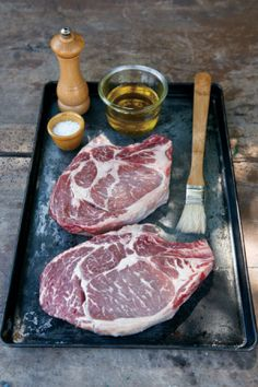 ... Perfect Steak + our recipe for T-Bone Steaks with Black Pepper Butter