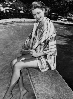 Grace: Striped Robe