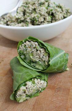 Sunflower Seed 'Tuna' Salad
