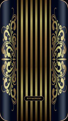 Cellphone Wallpaper, Lock Screen Wallpaper, Phone Backgrounds, Wallpaper Backgrounds, Blue Wallpapers, Iphone Wallpapers, Gold Wallpaper, Gold Background, Golden Color