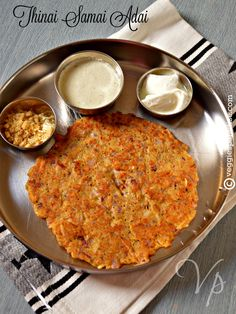 This is a protein packed healthy and delicious recipe made with millets and lentils. Yummy Snacks, Yummy Food, Millet Recipes, Protein Pack, Egg Free, Lentils, Vegan Vegetarian, Food To Make, Pancakes