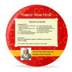 Needing ideas for your #NYE party? Here's a great #Texas cavair plate recipe for you!