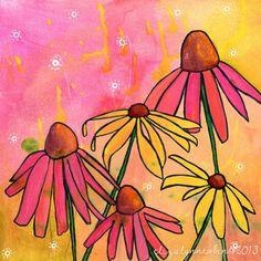 """""""August Dream"""" Print by Eliza Lynn Tobin"""