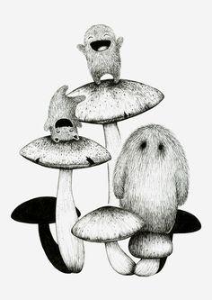 i am yap yap. Fun with mushrooms