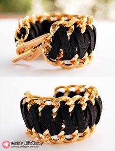 Amazing huge handmade bracelet!