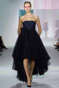 "kellyclaman:    Raf Simons' debut collection for Dior is everything I could have dreamed of and more - and many house signatures created by Christian Dior himself  have been reworked for the modern woman of today, such as the ""Bar"" jacket and the full ball-skirt.  It is the epitome of elegance for the 21rst century woman."