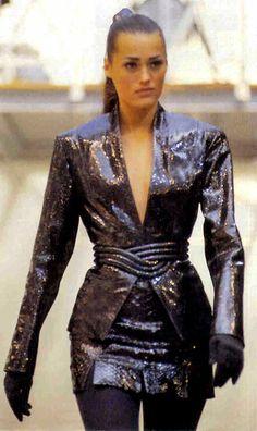 1992 - Azzedine Alaia show - Yasmin Lebon